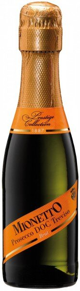 "Игристое вино Mionetto, ""Prestige Collection"" Prosecco DOC Treviso Brut, 0.2 л"