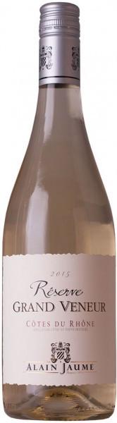 "Вино Alain Jaume & Fils, Reserve ""Grand Veneur"" Blanc, Cоtes du Rhоne AOC, 2015"
