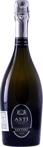 Игристое вино Santero, Asti DOCG (Eticheta Nera), gift box