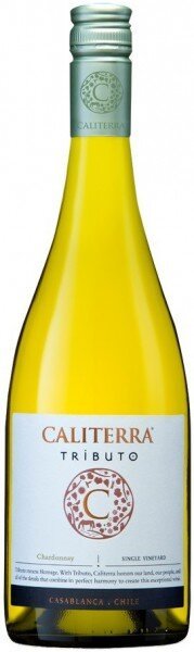 "Вино Caliterra, Chardonnay ""Tributo"" DO, 2014"