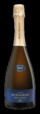 """Шампанское Mont Marcal, """"Extremarium"""" Cava Brut Nature Reserva 2015"""