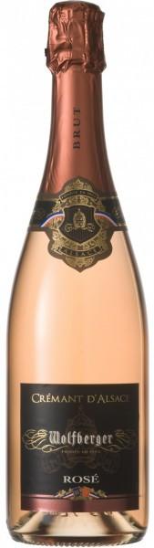 Игристое вино Wolfberger, Cremant d'Alsace Rose