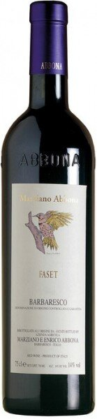 """Вино Abbona, """"Faset"""", Barbaresco DOCG, 2006"""