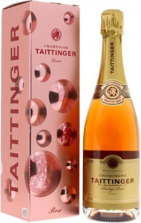 "Шампанское Taittinger, ""Prestige Rose"" Brut, gift box"