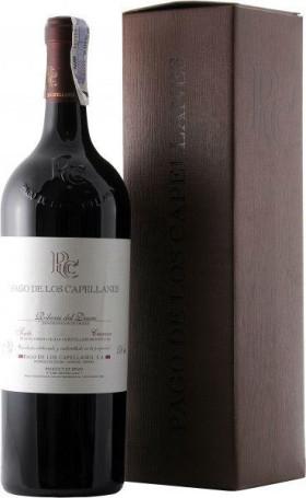Вино Pago de los Capellanes, Tinto Crianza, Ribera del Duero DO, 2011, gift box, 1.5 л