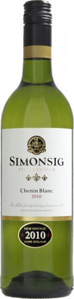 Вино Simonsig, Chenin Blanc, 2010