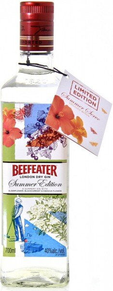 Джин Beefeater, Summer Edition, 0.75 л