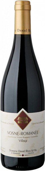 Вино Domaine Daniel Rion & Fils, Vosne-Romanee AOC, 2011