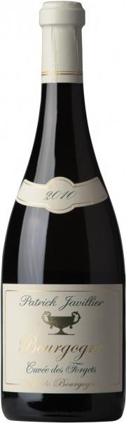 "Вино Patrick Javillier, Bourgogne Blanc ""Cuvee des Forgets"" AOC, 2010"