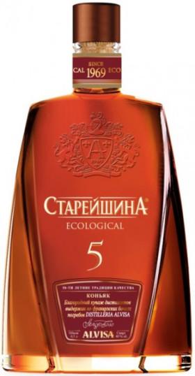 "Коньяк ""Старейшина"" Пятилетний, 0.25 л"