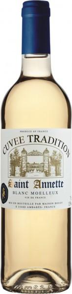 "Вино Saint Annette ""Cuvee Tradition"", Blanc Moelleux"