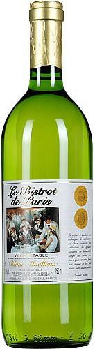"""Вино """"Le Bistrot de Paris"""" Blanc Moelleux VdT"""