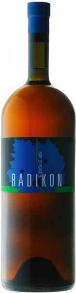 Вино Radikon, Ribolla Gialla, 2002, 1 л