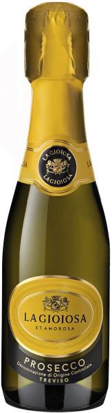 "Игристое вино ""La Gioiosa"" Prosecco DOC Treviso Brut, 0.2 л"