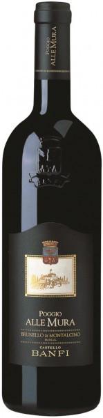 """Вино """"Poggio alle Mura"""", Brunello di Montalcino DOCG, 2011"""