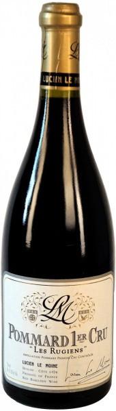 """Вино Lucien Le Moine, Pommard Premier Cru """"Les Rugiens"""" AOC, 2011"""