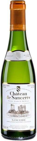 Вино Chateau de Sancerre, Sancerre AOC Blanc, 2010, 0.375 л