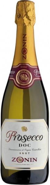 Игристое вино Zonin Prosecco DOC