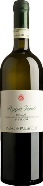 """Вино Principe Pallavicini, """"Poggio Verde"""", Frascati Superiore DOC, 2015"""