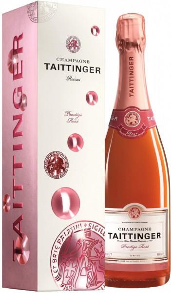"Шампанское Taittinger, ""Prestige Rose"" Brut, gift box, 1.5 л"