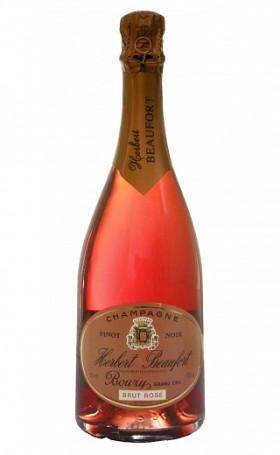 Шампанское Herbert Beaufort Brut Rose Champagne Bouzy Grand Cru 0.75л
