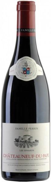 "Вино Perrin et Fils, ""Les Sinards"", Chateauneuf-du-Pape AOC, 2010"