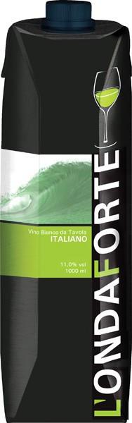 Вино Quargentan, L'Onda Forte, Vino Bianco da Tavola, tetra-pack, 1 л