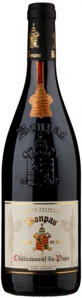 "Вино Bonpas, ""Don Herbert"" Chateauneuf-du-Pape AOC, 2014"