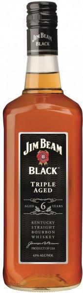 """Виски Jim Beam Black """"Triple Aged"""", 6 Years Old, 1 л"""