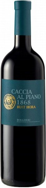"Вино Caccia al Piano 1868, ""Ruit Hora"", Bolgheri DOC, 2012"