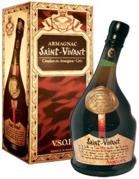 Арманьяк Saint-Vivant, Armagnac VSOP, gift box, 0.7 л