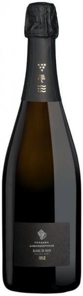 """Игристое вино """"Usadba Divnomorskoe"""" Blanc de Noir Extra Brut, 2012, 1.5 л"""