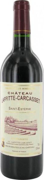 Вино Chateau Laffitte-Carcasset, Saint-Estephe AOC, 2007