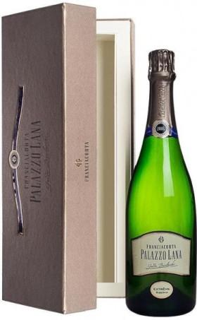 "Игристое вино Guido Berlucchi, ""Palazzo Lana"" Extreme Riserva, Franciacorta DOCG, 2006, gift box"