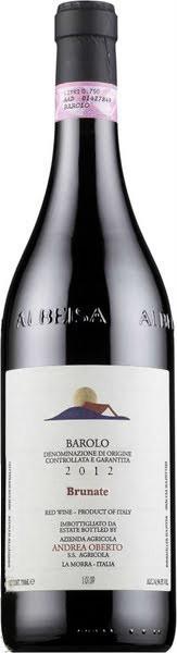 """Вино Andrea Oberto, Barolo """"Brunate"""" DOCG, 2012"""