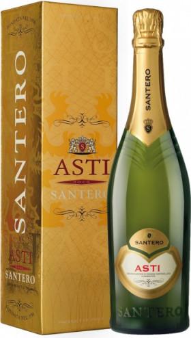 Игристое вино Santero, Asti DOCG, gift box