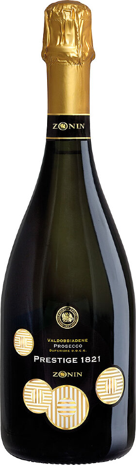 "Игристое вино Zonin, ""Cuvee 1821"" Prosecco DOC Brut"