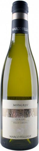 """Вино Collio Pinot Grigio """"Mongris"""" DOC, 2015, 0.375 л"""