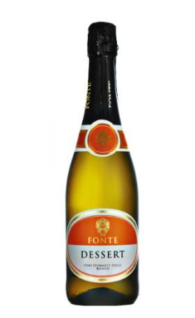 Игристое вино Fonte Dessert 0.75л