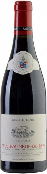 "Вино Perrin et Fils, ""Les Sinards"", Chateauneuf-du-Pape AOC, 2012"