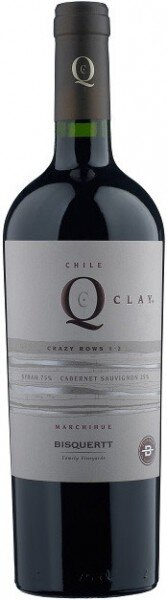 "Вино Bisquertt, ""QClay Crazy Rows 1-2"", Colchagua Valley DO, 2009"