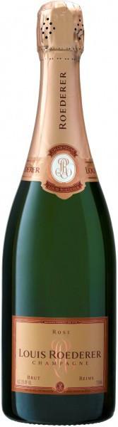 Шампанское Brut Rose AOC, 2013
