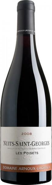 """Вино Domaine Arnoux-Lachaux, """"Les Poisets"""", Nuits-Saint-Georges, 2008"""