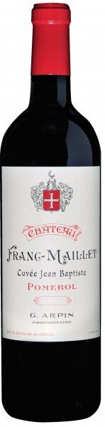 Вино Chateau Franc Maillet Cuvee Jean Baptiste, Pomerol AOC 2004