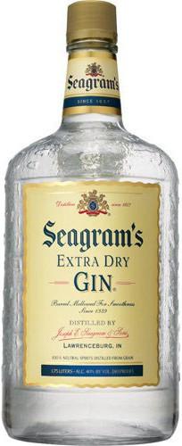 """Джин """"Seagram's"""" Extra Dry, 1.75 л"""