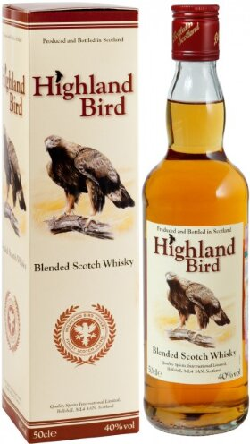 "Виски ""Highland Bird"", gift box, 0.5 л"