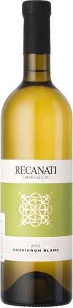 "Вино Recanati, ""Upper Galilee"" Sauvignon Blanc (kosher), 2012"