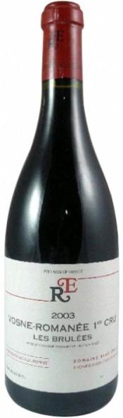 "Вино Domaine Rene Engel, Vosne-Romanee 1er Cru ""Les Brulees"", 2003"