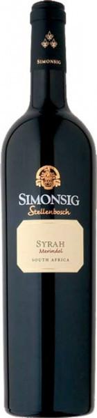 Вино Simonsig, Merindol Syrah, 2008