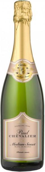 Игристое вино Paul Chevalier, Blanc de Blancs, Medium Sweet